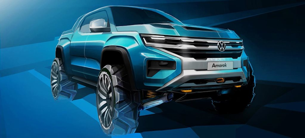 Second-generation Volkswagen Amarok sketch teased news