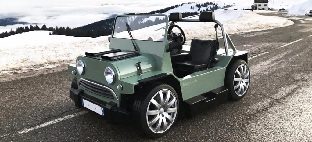 Lazareth V8-powered Mini Moke news