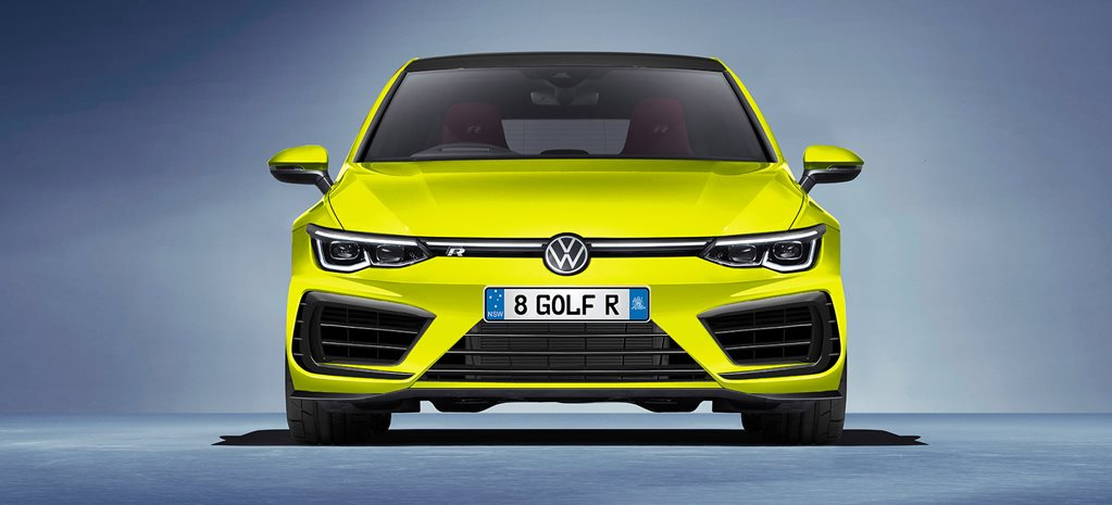 Golf R Plus computer generated image