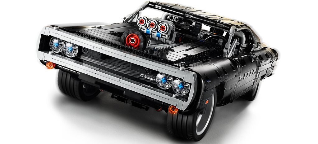 Lego Technic Fast & Furious Dodge Charger revealed news