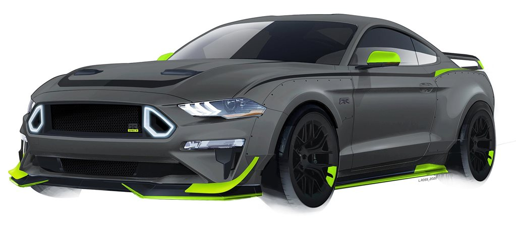 RTR 10th Anniversary Mustang revealed news