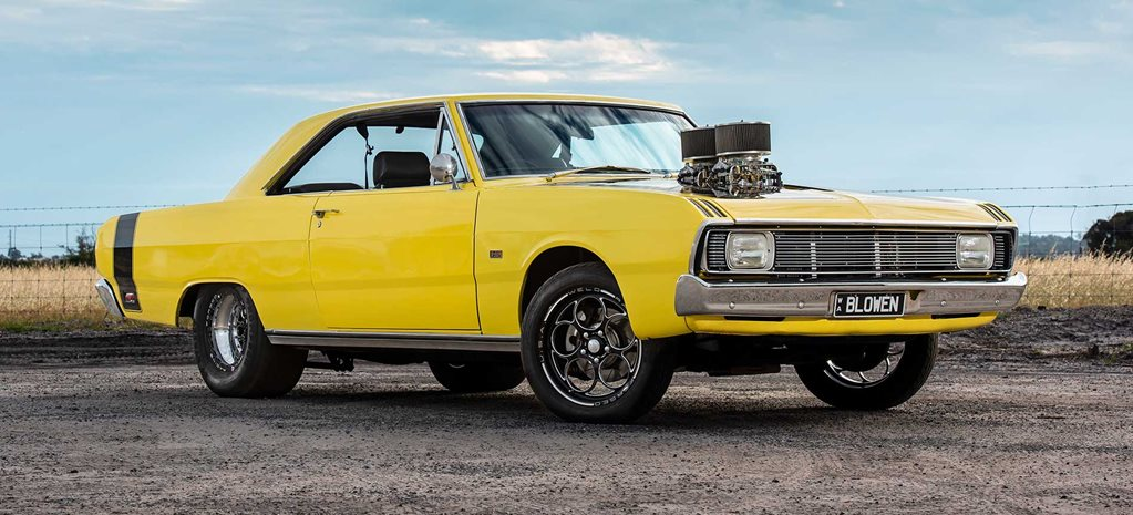 Blown 340-cube 1970 Chrysler VG Valiant hardtop