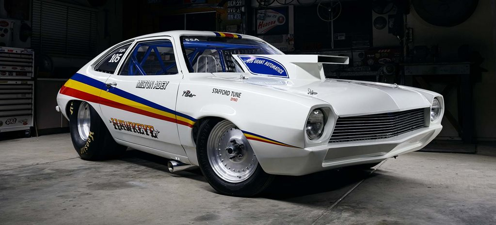 Milton Adey's iconic 1972 Ford Pinto drag car restored