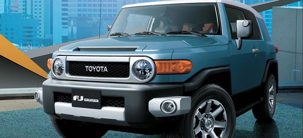 2020 Toyota Fj Cruiser On Sale In The Uae