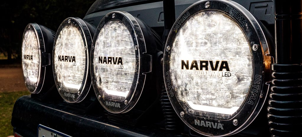 Narva Ultima 180 LED driving lights review feature