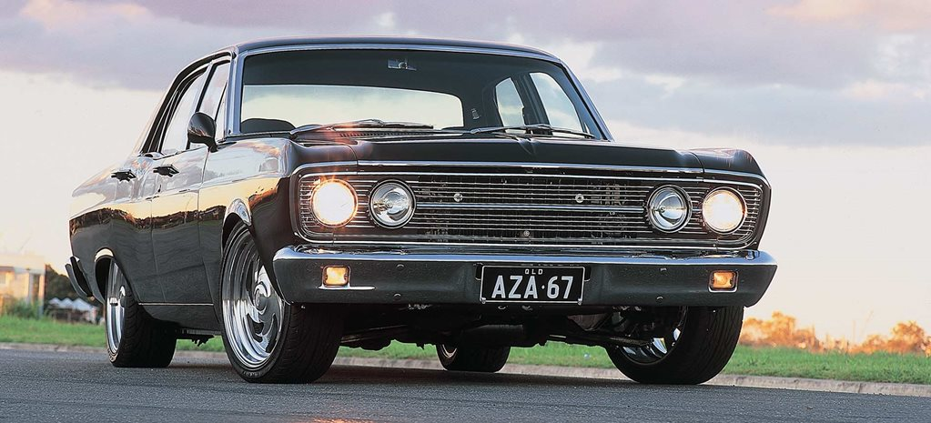 Ford ZA Fairlane - flashback