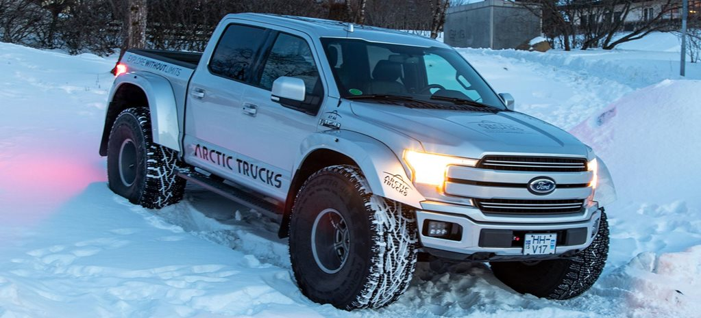 Arctic Trucks Ford F-150 AT44 revealed news