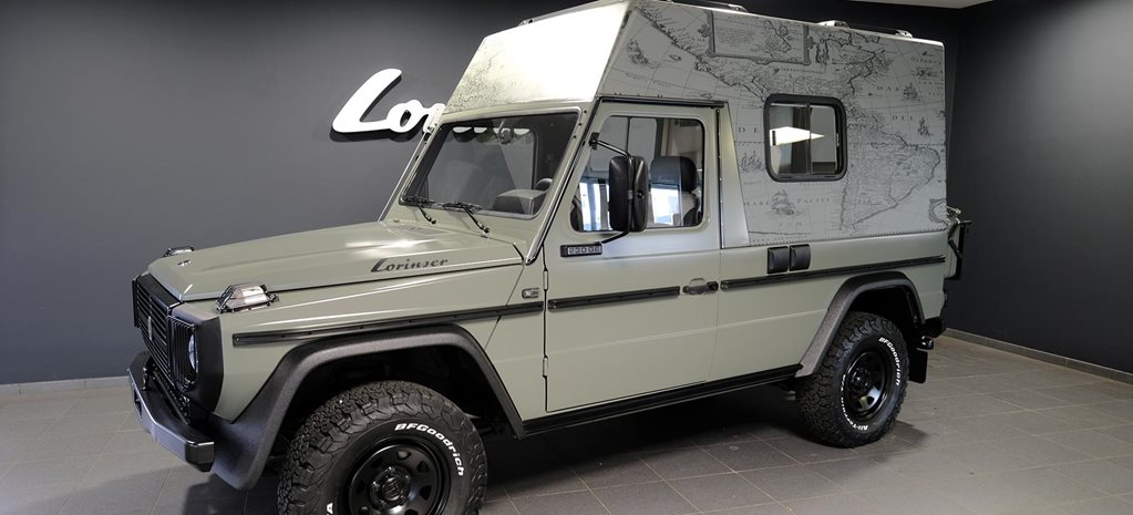 German tuner Mercedes-Benz G-Wagen motorhome news