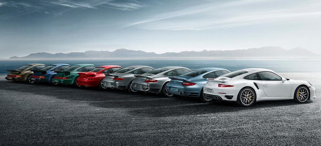 History of the Porsche 911 Turbo