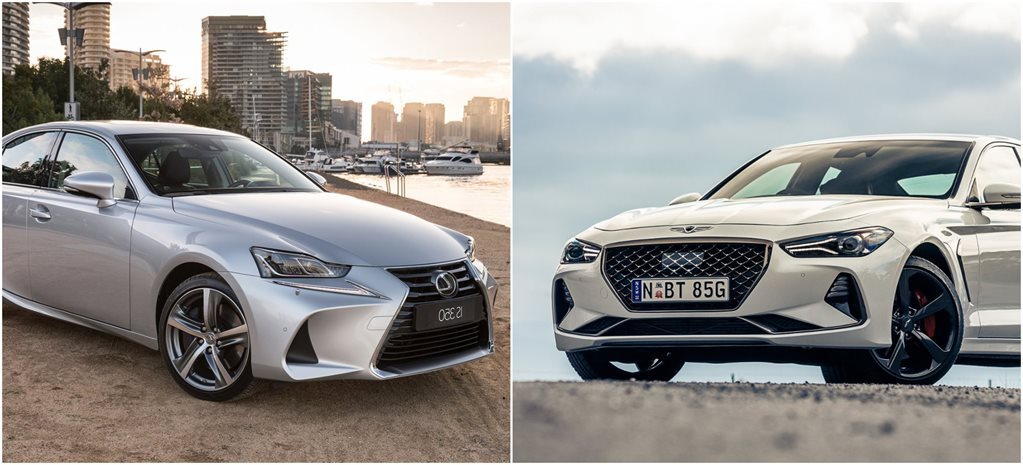 Lexus IS350 vs Genesis G70