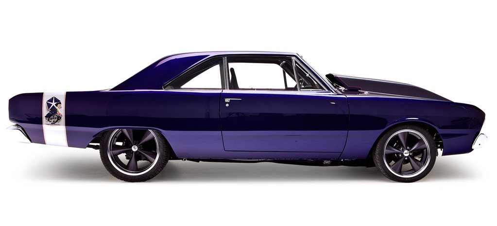 Mark Arblaster's 1970 Chrysler VG Valiant hardtop WAR440 - flashback