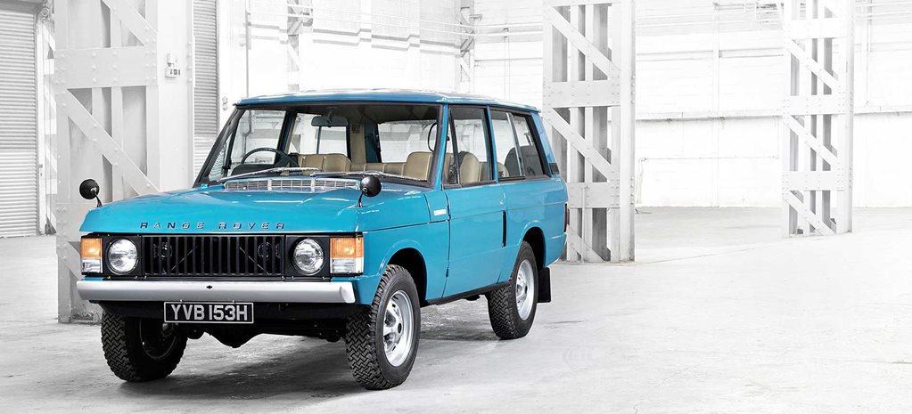 Evolution of the Range Rover Classic