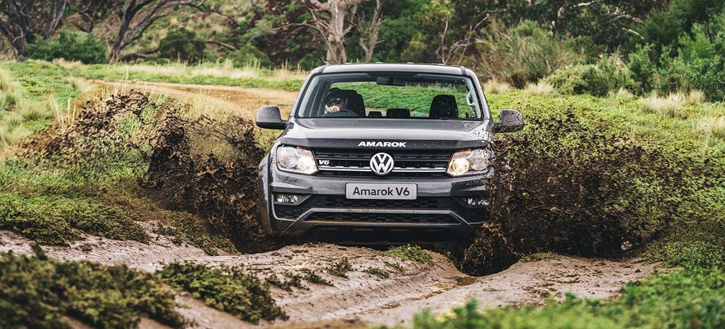 2020 VW Amarok V6 manual off-road