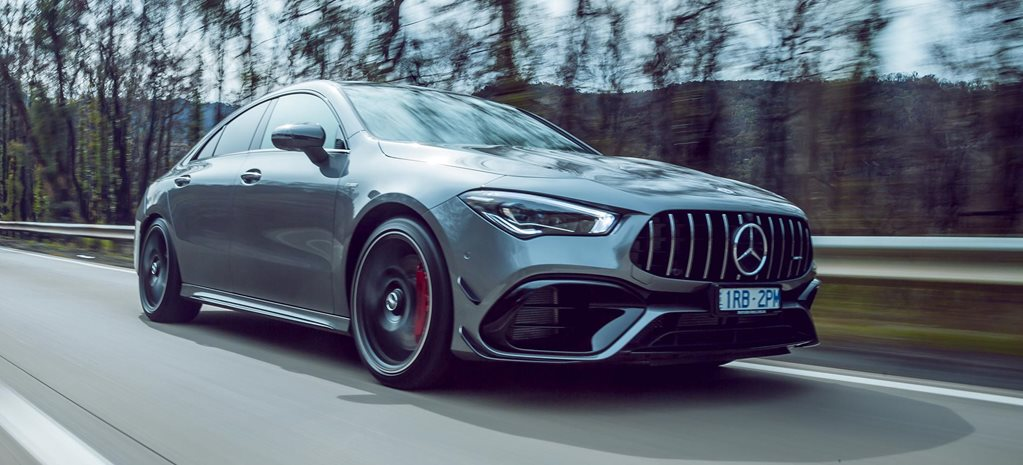 2020 Mercedes-AMG CLA45 S review