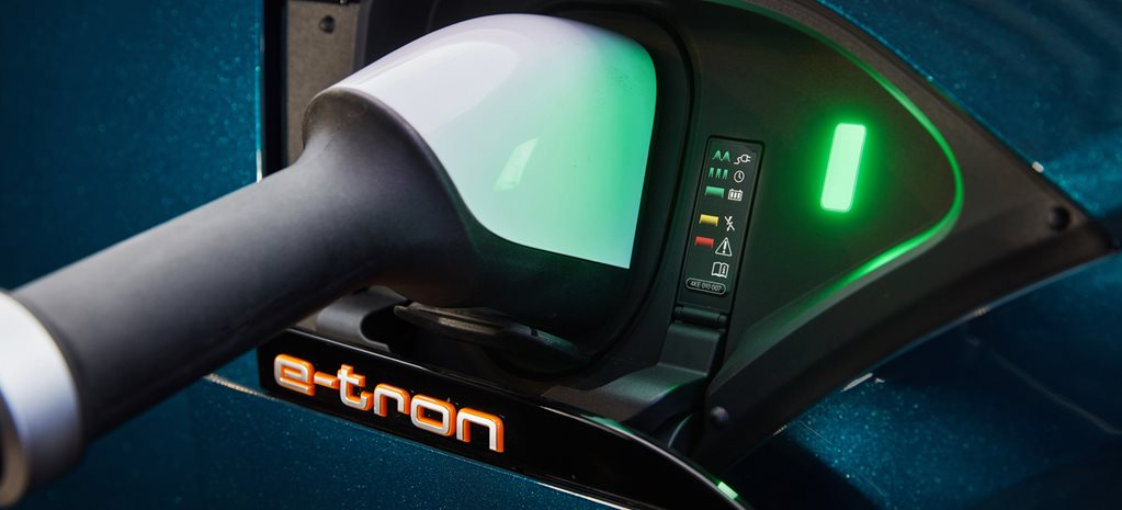 Audi E-Tron fast charger