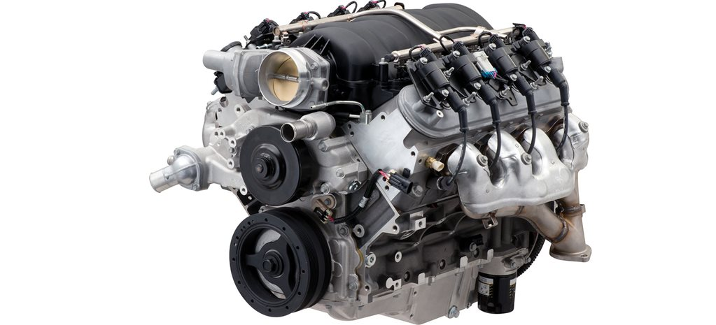 Chevrolet Performance releases LS7-based LS427/570 crate motor