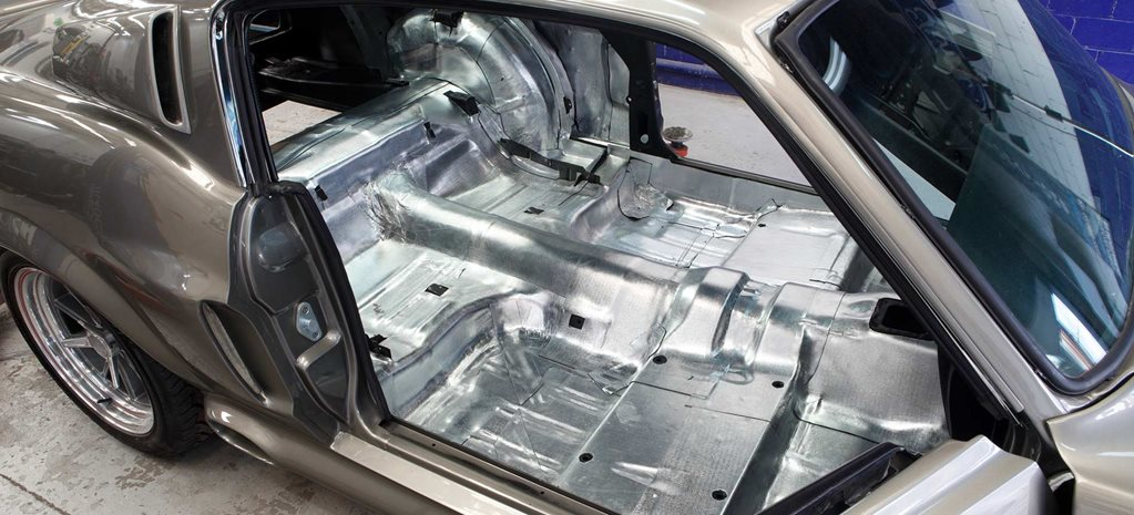 Installing sound deadening to your streeter