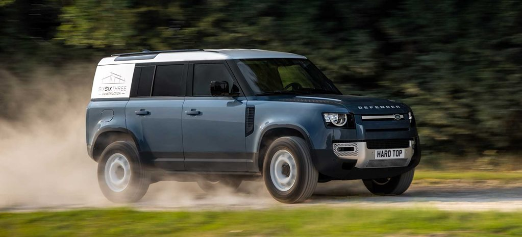Land Rover resurrects the Defender Hard Top