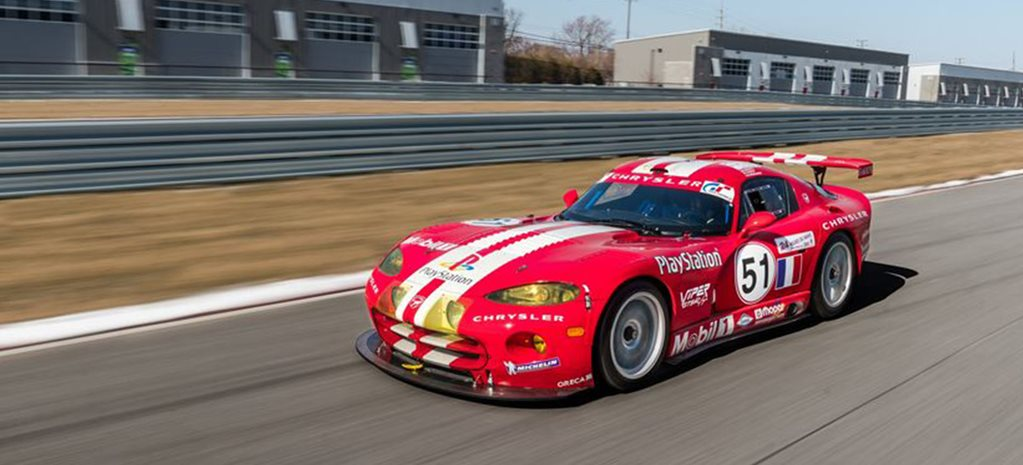 A Le Mans winning Chrysler Viper GTS-R race car is for sale