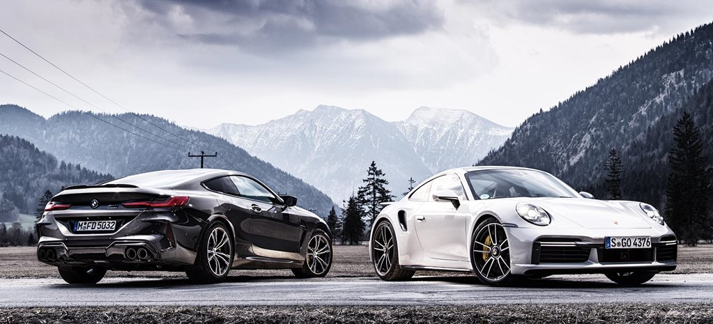 2020 Bmw M8 Competition V 2020 Porsche 911 Turbo S Comparison