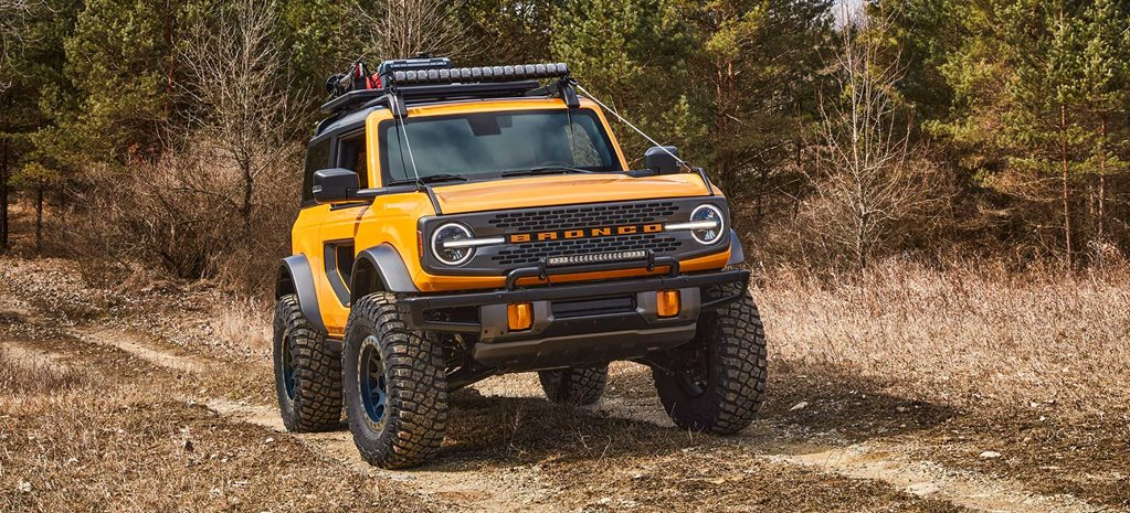 All-new Ford Bronco bucks on in