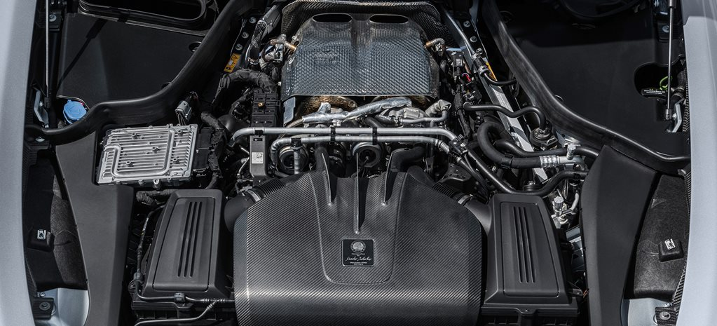 AMG's bonkers new flat-plane V8 explained
