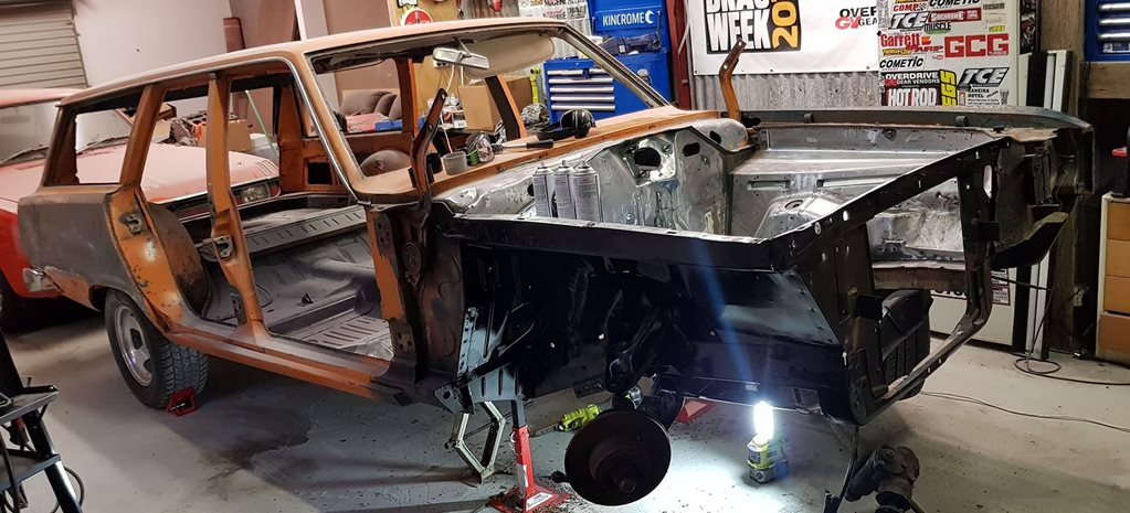 Repairing the Valiant's chassis rail – Carnage Plus episode 77