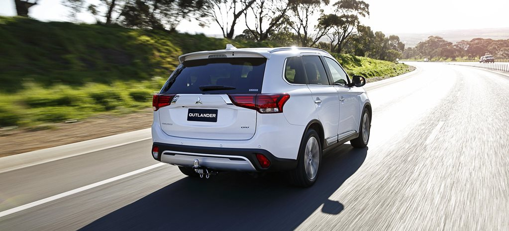New Mitsubishi Outlander due 2021