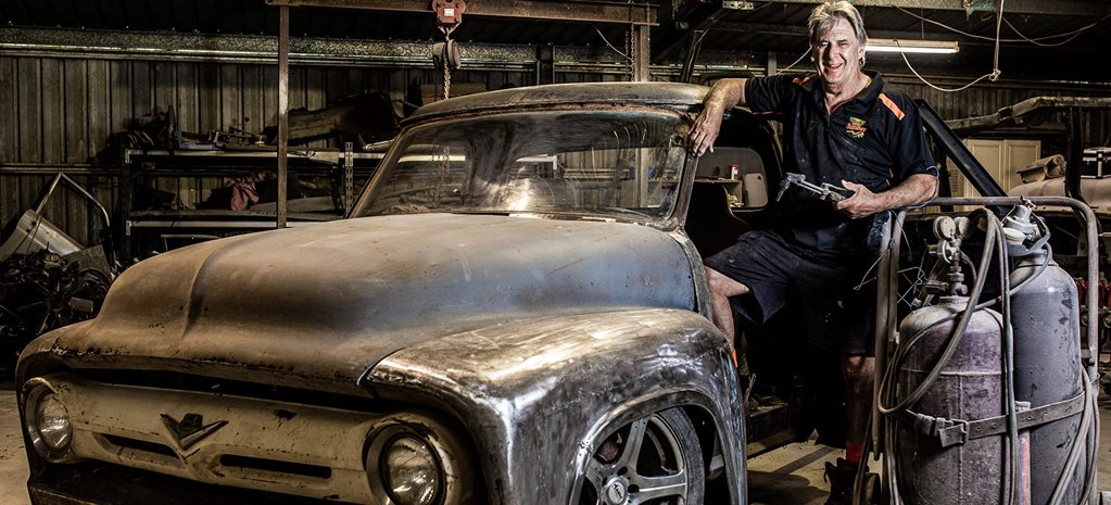 Legendary street machine builder Stephen Wilson - interview