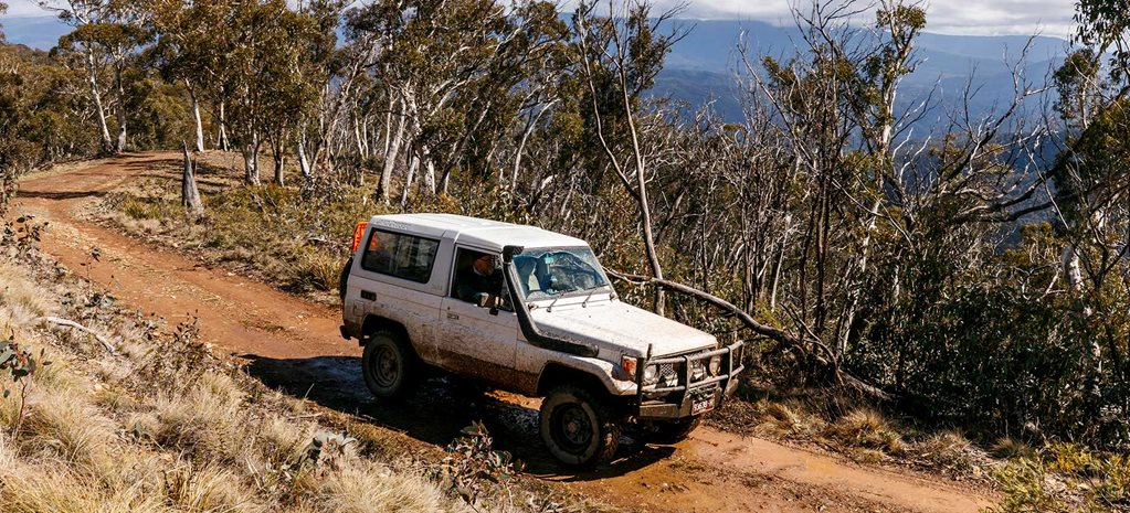 LandCruiser BJ73 in the 4X4 Australia shed