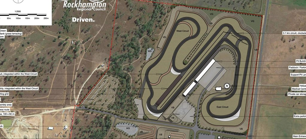 Rockhampton drag strip plans unveiled