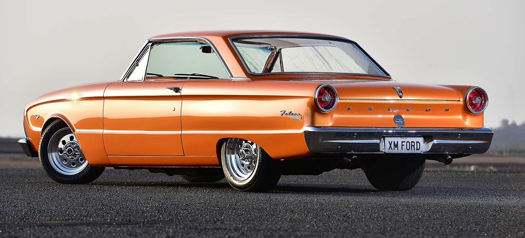 Amanda Archer's 1964 Ford XM Falcon coupe