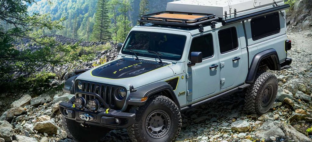 Jeep Gladiator Overlander Farout concept