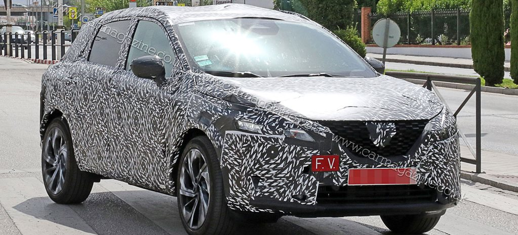 Next Nissan Qashqai: popular crossover snapped