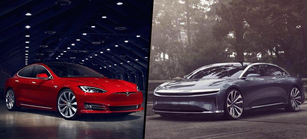 2021 Lucid Air Vs Tesla Model S On Paper Ev Comparison