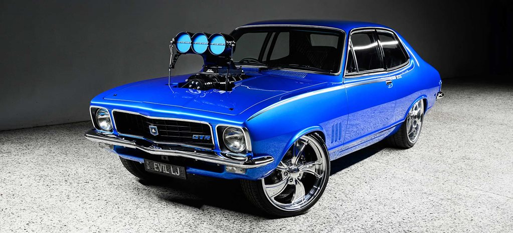 Blown LS-powered 1973 Holden LJ Torana - EVIL LJ