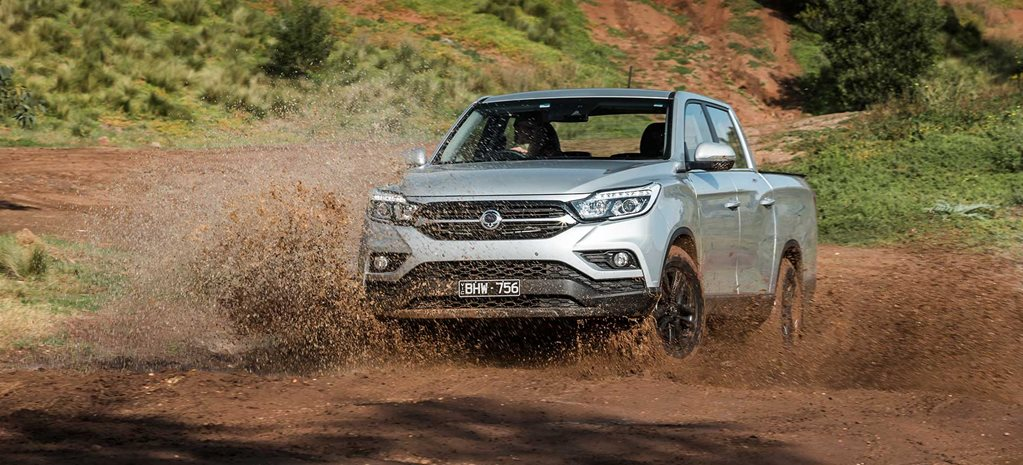 2020 SsangYong Musso XLV Ultimate water