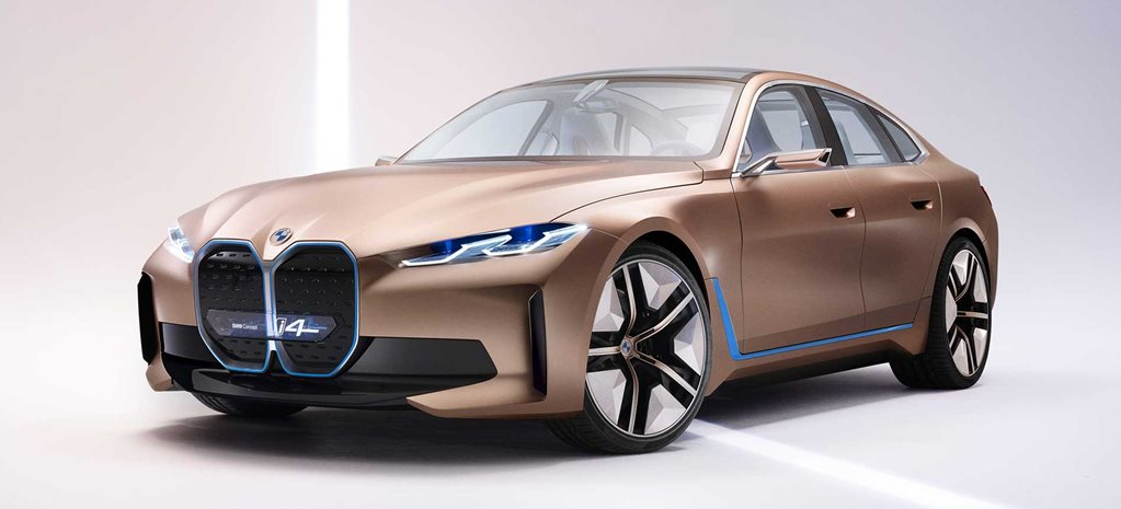 BMW i4 electric car.
