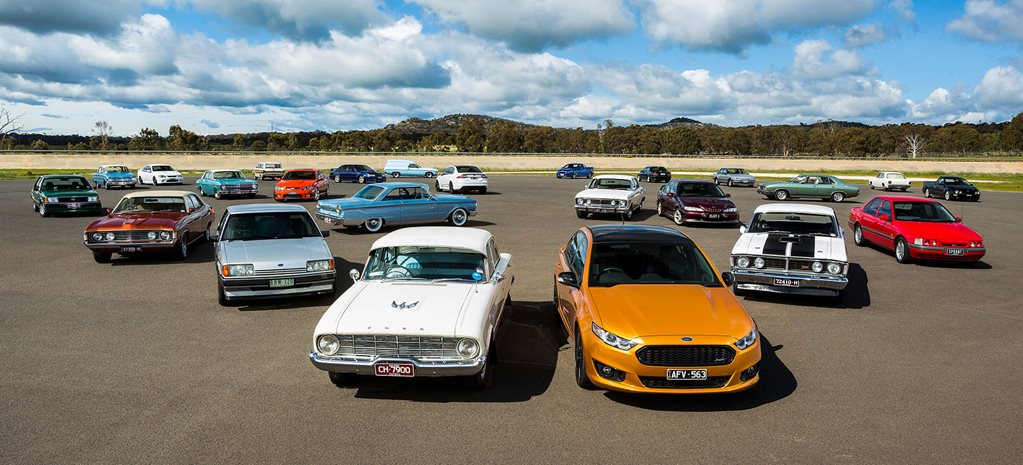 Video: Celebrating the Ford Falcon with a family portrait
