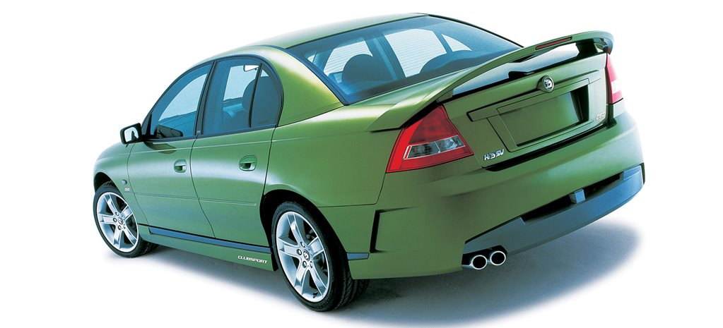 Buyer's guide: HSV VT-VZ Clubsport