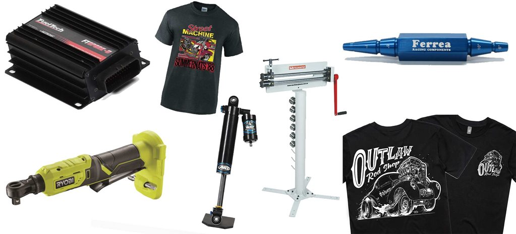 New street machine gear: Summernats clothing + Ryobi tool + Ignition package + more