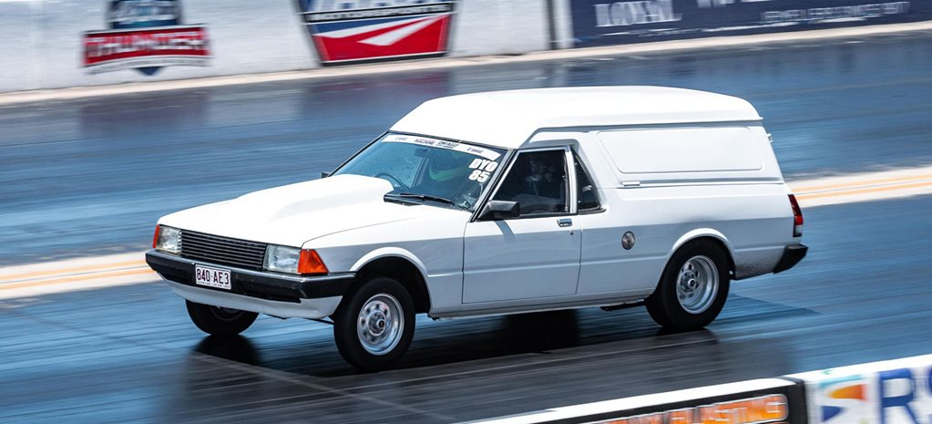 Blown LSA-powered XD Falcon panel van wins Carnage Dial Your Own – Drag Challenge Weekend 2020