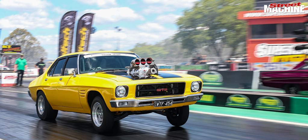Blown, 598ci big-block powered HQ Premier wins Turbosmart Outlaw Blown – Drag Challenge Weekend 2020
