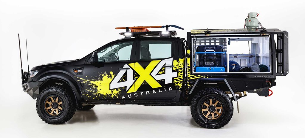 The 4X4 Australia Ford Ranger is up for sale