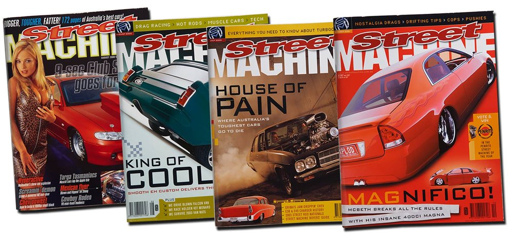 Top 20 Street Machine covers part three: 2000s