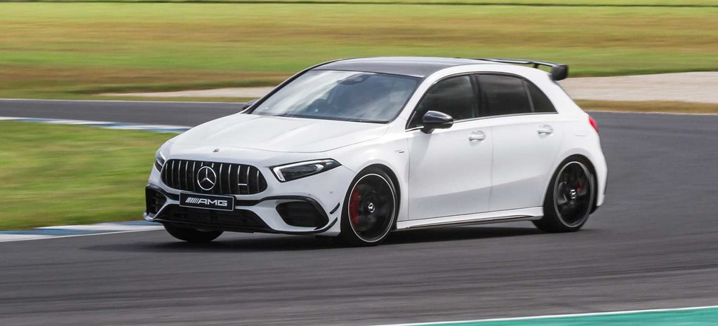 Mercedes-AMG A45 S driven at Phillip Island.