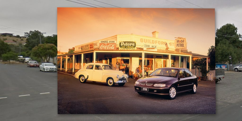 Holden launches Rewinding Roads photo creative campaign