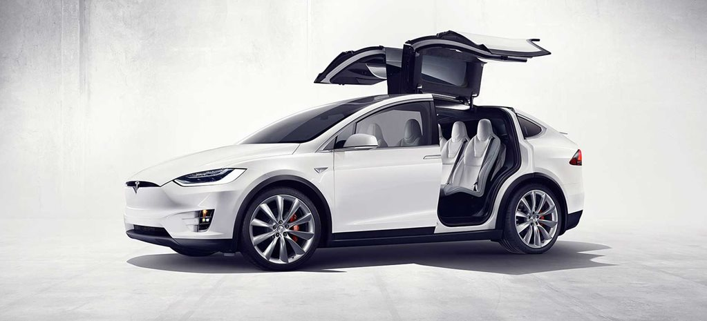 Tesla model X recall roof trim