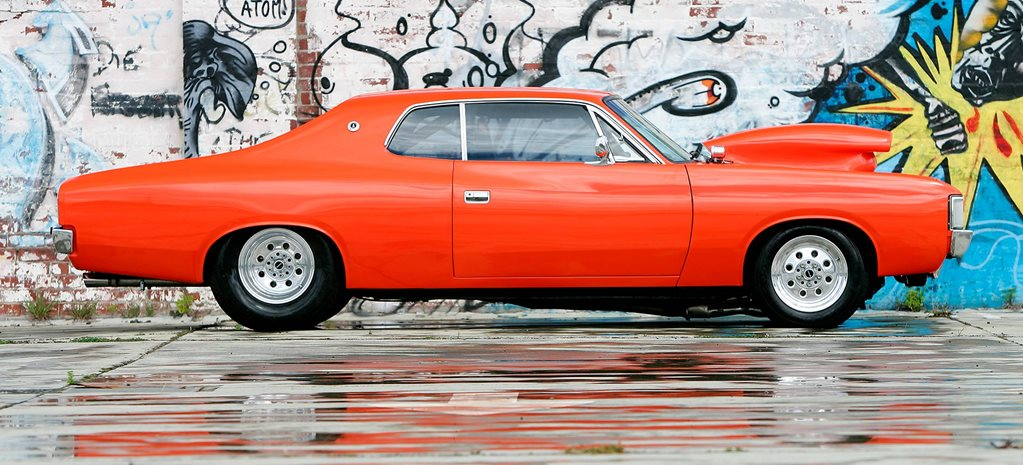Big-block 1971 Chrysler VH Valiant hardtop - flashback