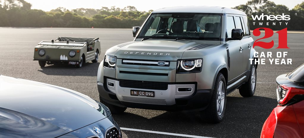 Wheels Car of the Year 2021 contender Land Rover Defender feature